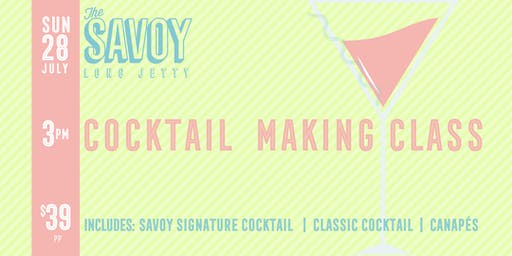 Cocktail Making Class at The Savoy