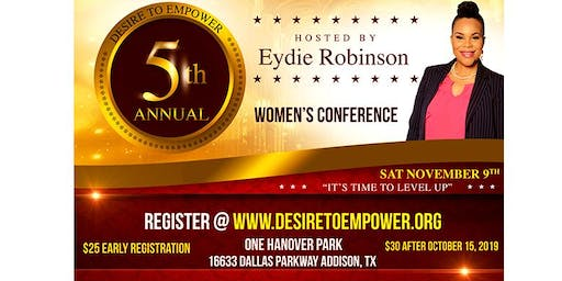 Desire to Empower 5th Annual Women's Conference