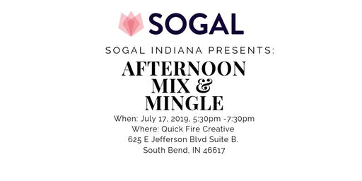 SoGal Indiana: Afternoon Mix & Mingle