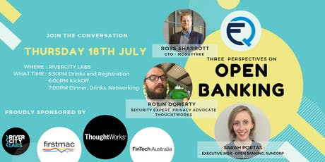 Open Banking: Three Perspectives tickets