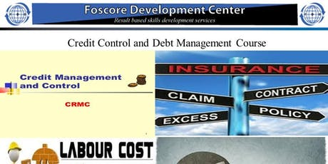 Credit Control and Debt Management Course tickets