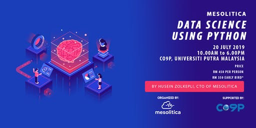 Data Science using Python By Husein Zolkepli