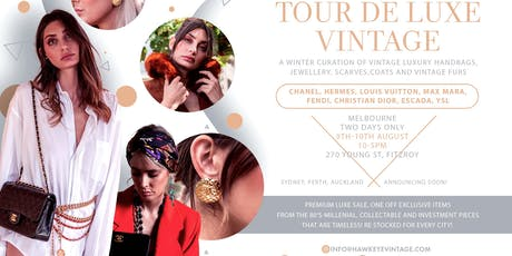 Winter Vintage Premium LUXE SALE! Chanel,MaxMara,Dior and more. tickets