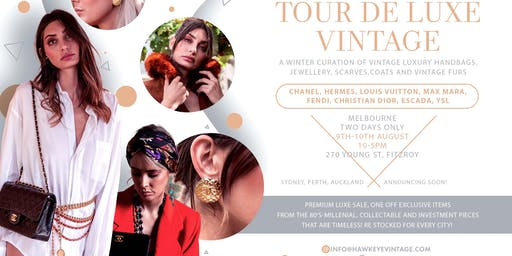 Winter Vintage Premium LUXE SALE! Chanel,MaxMara,Dior and more.