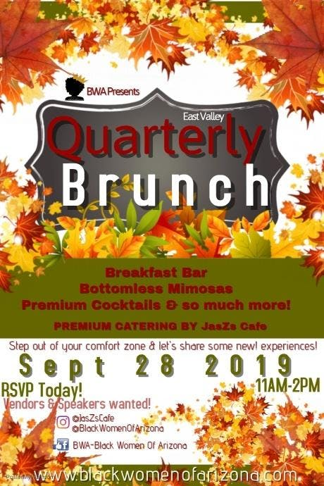 BWA East Valley Quarterly Brunch (Fall 2019)