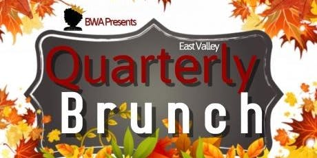 BWA East Valley Quarterly Brunch (Fall 2019) tickets