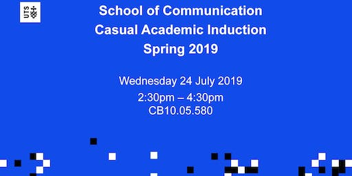 Spring Casual Academic Induction
