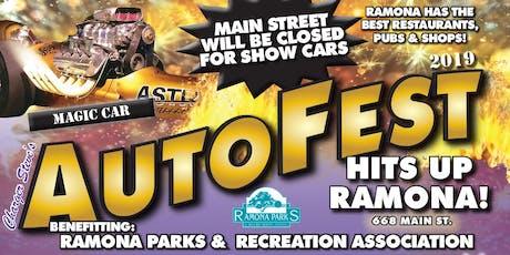 AutoFest  Ramona 2019 tickets