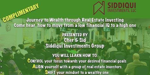 Journey to Wealth through Real Estate Investing