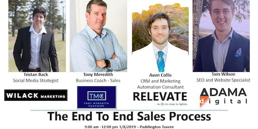 The End To End Sales Process - Find, Attract, Close, Wow