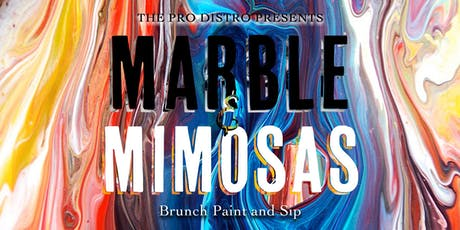 Marble and Mimosas Brunch Paint and Sip tickets