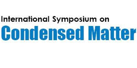 International Symposium on Condensed Matter & Material Science tickets