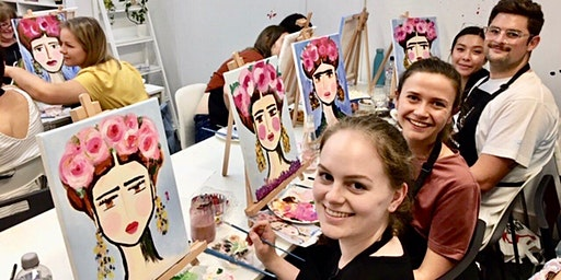 Sip & Paint Workshop' Frida Style'