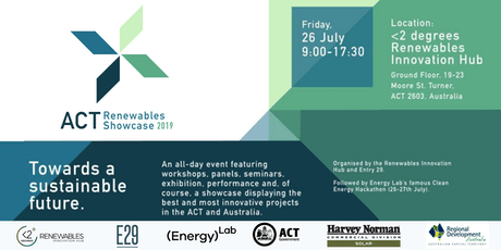 ACT Renewables Showcase 2019 tickets