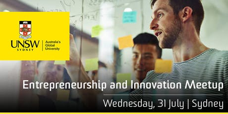 UNSW Entrepreneurship & Innovation Meetup tickets