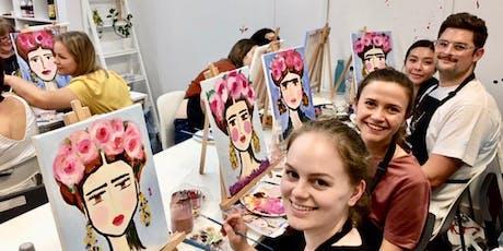 'Frida Style' Sip & Paint Workshop tickets
