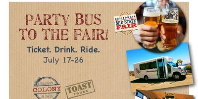 Mid-State Fair Shuttle Party by Colony Market & Deli