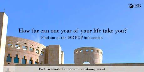 ISB PGP Application Workshop - Mumbai 11AM tickets
