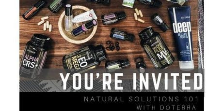 Essential Oil Basics Workshop: Learn how to feel better Naturally (7/26) tickets