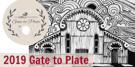 The Gallery Foundation presents Bendigo Bank Gate to Plate