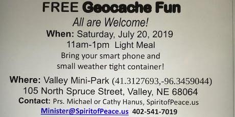 Free Geocache FUN tickets