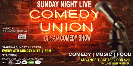 Sunday Night Live at the Comedy Union tickets