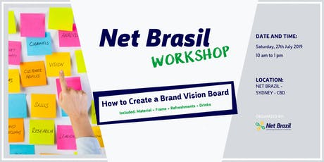 How to Create a Brand Vision Board tickets