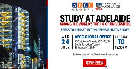 Study at Adelaide tickets