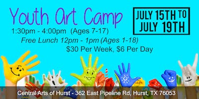 Youth Art Camp - July 15th to July 19th