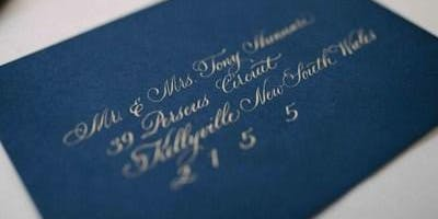 Typism 2019 workshop: Traditional Copperplate for Beginners
