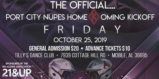 The Official Eta Nu Alumni Homecoming Kickoff Party (USA Homecoming 2019)