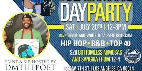Paint & Sip Day Party tickets
