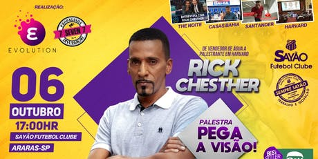Rick Chesther em Araras ! ingressos