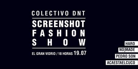 SCRENSHOOT Fashion Show entradas