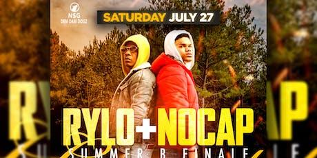 RYLO RODRIGUEZ & NO CAP SUMMER B FINALE CONCERT tickets