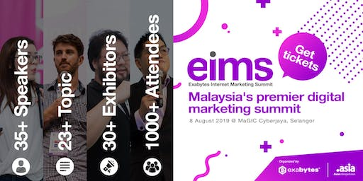Exabytes Internet Marketing Summit 2019