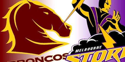 Brisbane Broncos vs Melbourne Storm