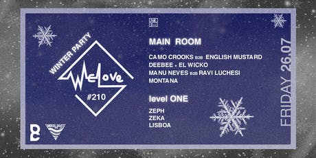 WeLove #210 Winter Party tickets