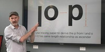 Typism 2019 workshop: Design your own Typeface