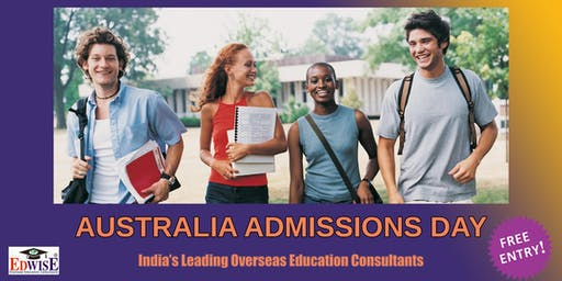 AUSTRALIA  ADMISSIONS DAY IN DELHI