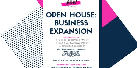 Women & Wealth Open House: Business Expansion tickets