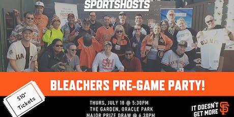 SportsHosts/SF Giants Bleacher Party tickets