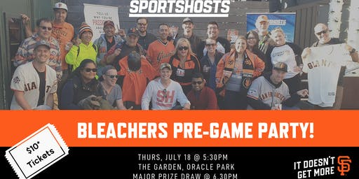 SportsHosts/SF Giants Bleacher Party