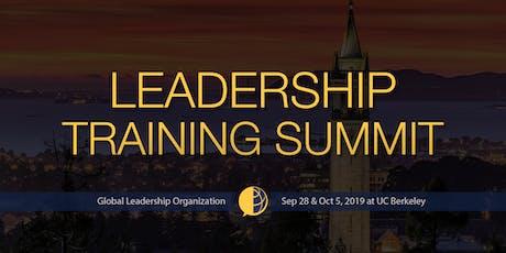 GLO Leadership Training Summit at UC Berkeley Fall 2019 tickets