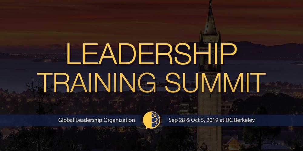 GLO Leadership Training Summit at UC Berkeley Fall 2019