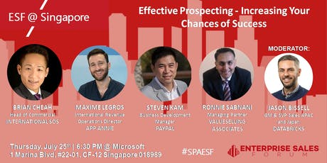 Effective Prospecting - Increasing your Chances of Success tickets