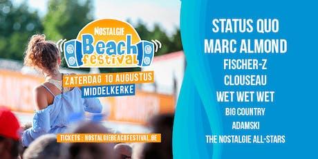 Nostalgie Beach Festival, zaterdag 10 augustus (via Nostalgie) tickets
