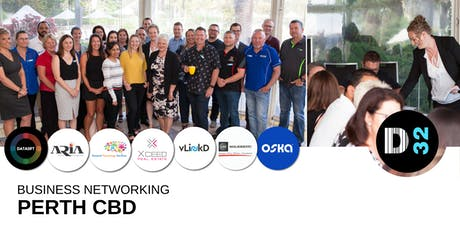 District32 Business Networking Perth – Perth CBD - Thu 01st Aug tickets