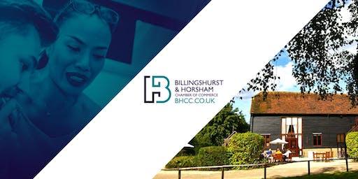 Billingshurst & Horsham Chamber of Commerce Networking Lunch