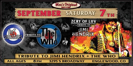 Tribute to Jimi Hendrix + The Who at Moe's Original BBQ Englewood tickets